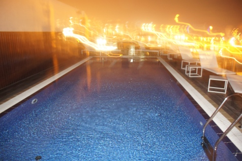 H10 Hotel Pool Roof Terrace