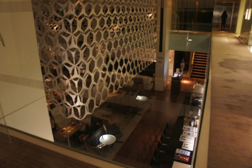 Interiors of the Mandarin Oriental Hotel