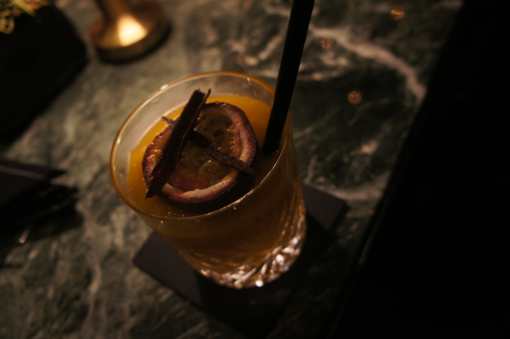 Passion Fruit Cocktail at the Mandarin Oriental Hotel