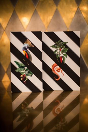 Circus - food & drinks menu cover