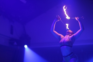 Circus - Kitty, fire eating