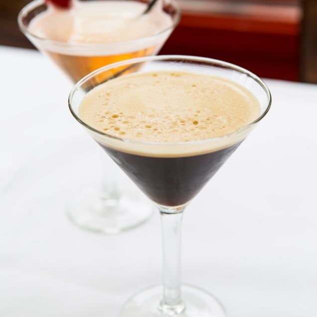 Cocktail Martini 1 and Espresso Martini