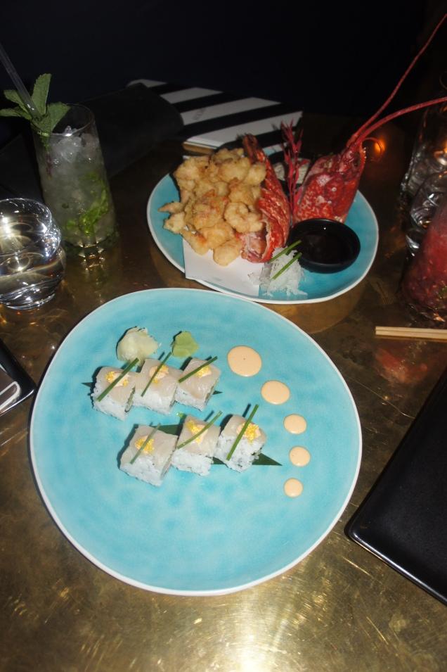 Sushi and Tempure