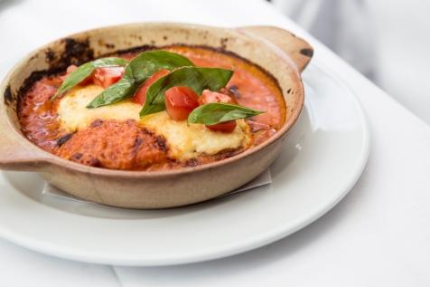 Lasagna Vicino classic beef lasagne in pink sauce £11.5 (1)