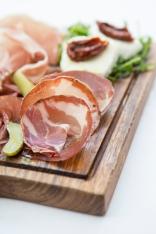 Tagliere di Salumi selection of salami, parma ham, sundried tomatoes & mozzarella (Platter for 2) gf £12 (1)