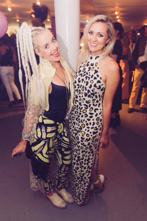Lemon and Singer Larissa Eddie