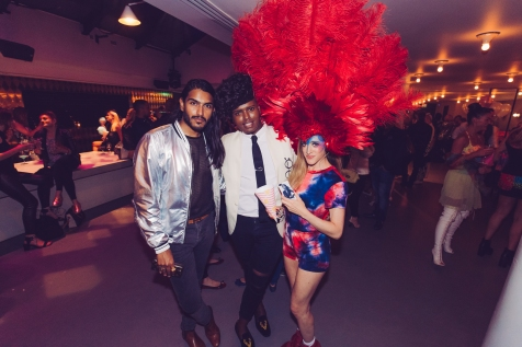 Prince Cassius, Jessica Patterson and Raha Chadda