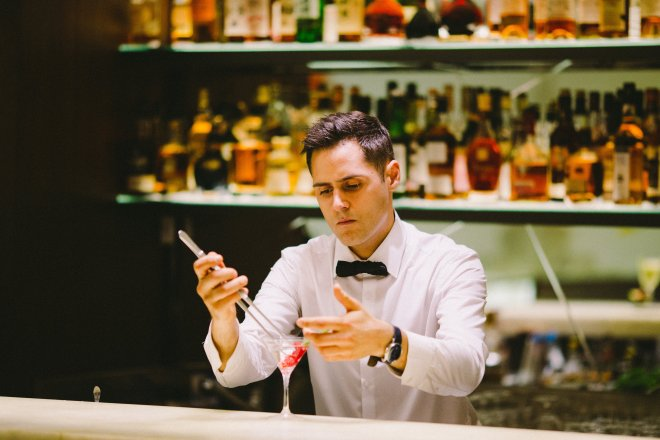 Bar Tender at QP