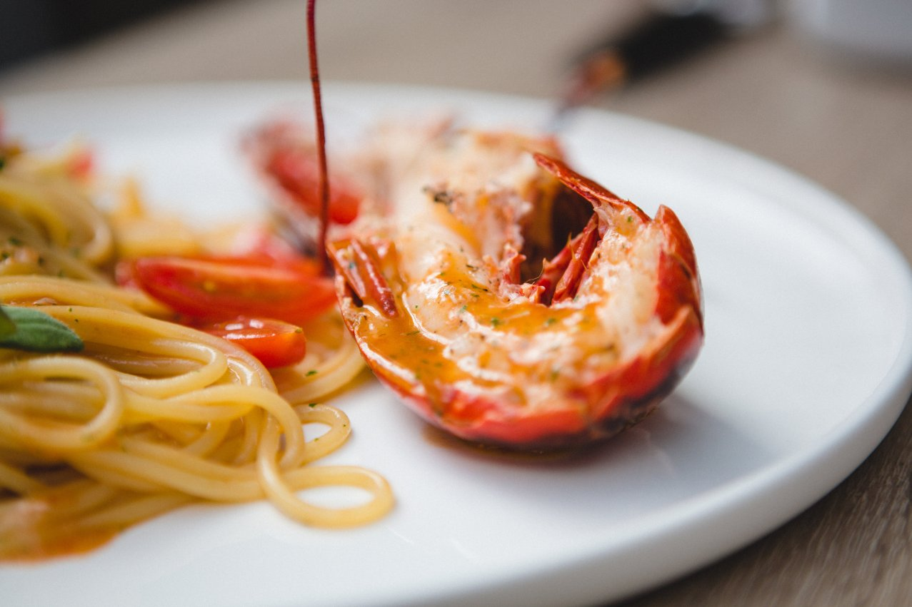 Lobster Pasta at QP