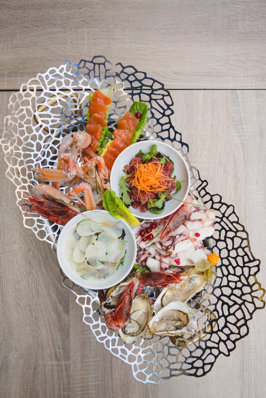 Sea Food Platter at QP