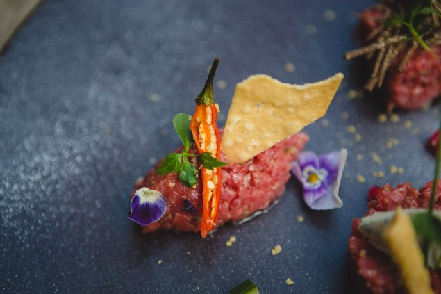 Beef Tartare at QP