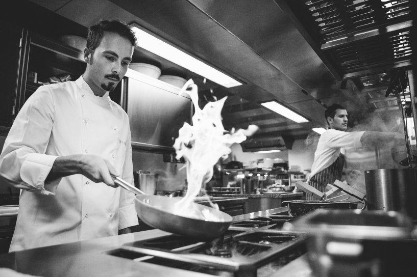 Fabrizio Mellino at Qp Kitchen