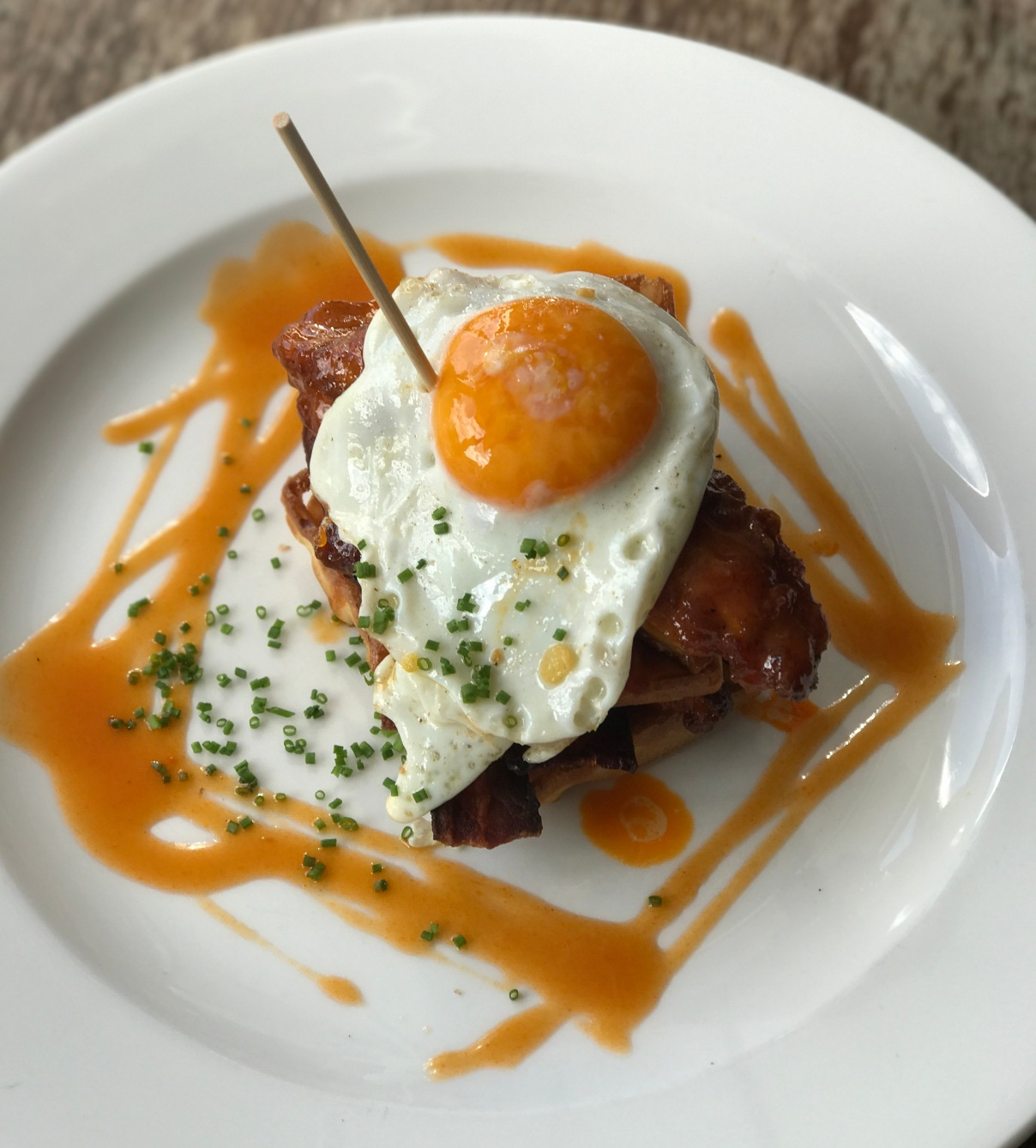 Eggs and Bacon at the Jam Tree