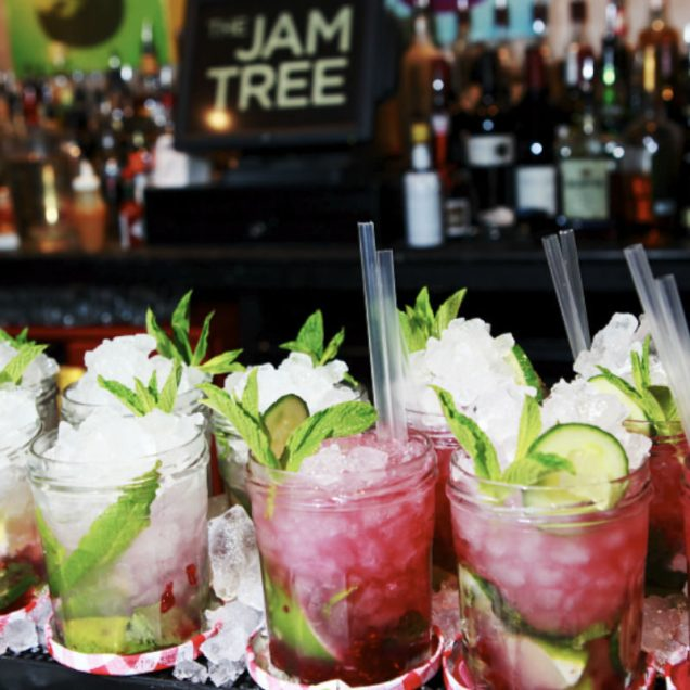 Strawberry Infused Cocktails Jam Tree
