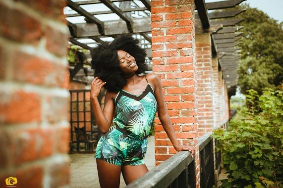 Eni Fabletics Green Jumpsuit