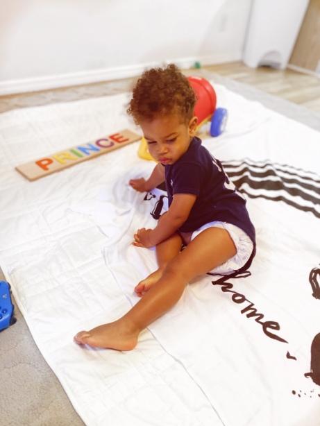 Prince playing Baby Jives 8